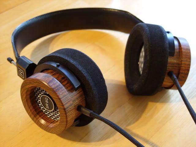 Custom Woodied Grado Sr 80i Http Www Head Fi Org T 201220 Grado Sr80 Impressions Thread 90 Grado Fb Best Headphones Diy Amplifier In Ear Headphones
