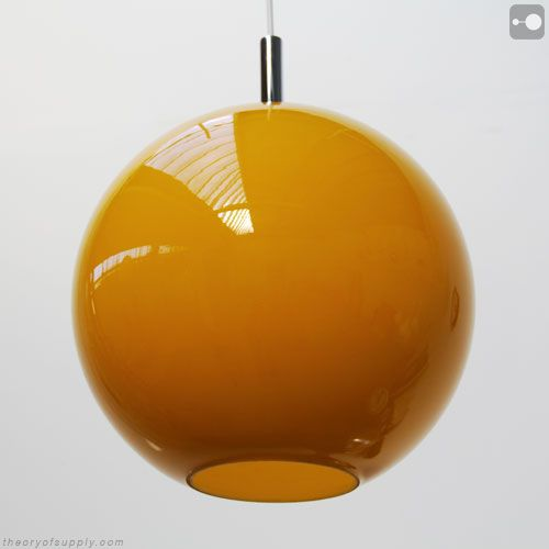 Retro orange glass lamp shade globe 1960s theory of supply retro orange glass lamp shade globe 1960s theory of supply for mozeypictures Gallery