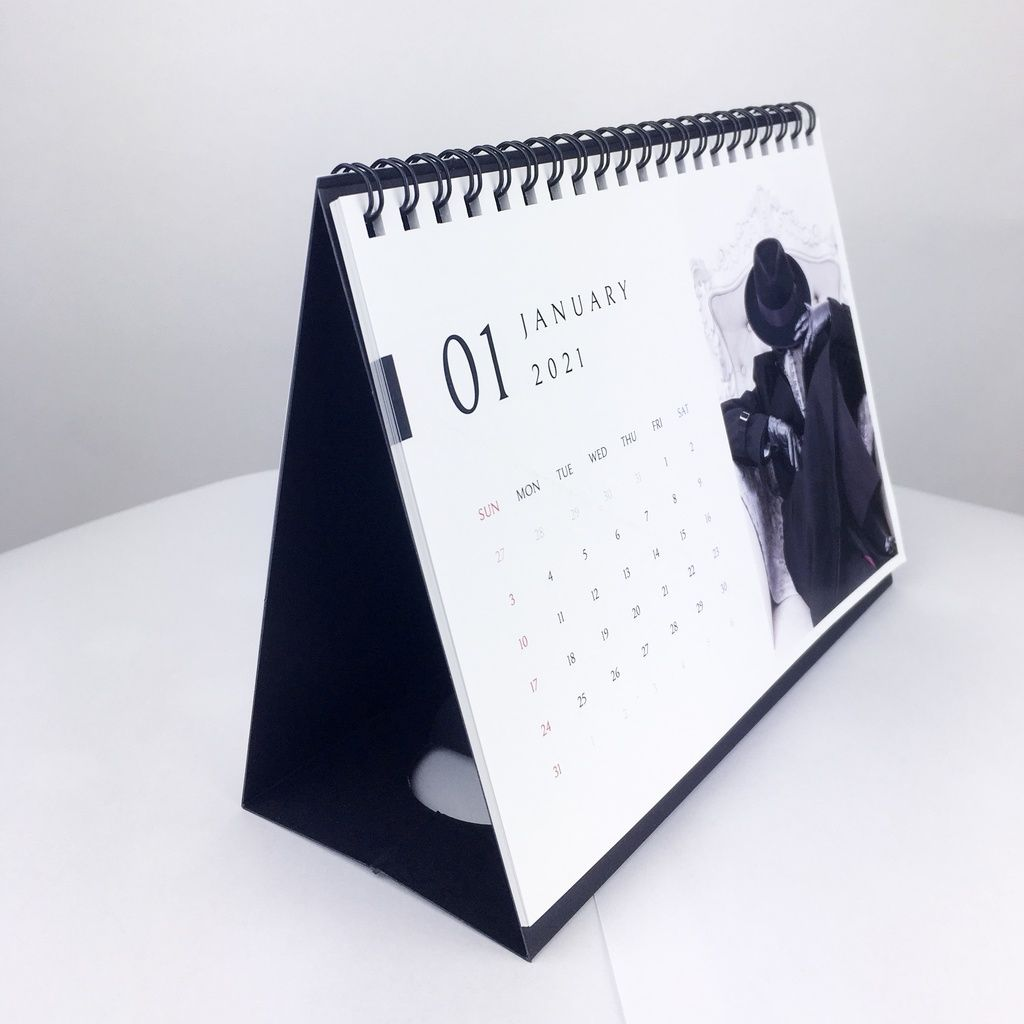 Nitsuke Plague Doctor 2021 Desk Calendar