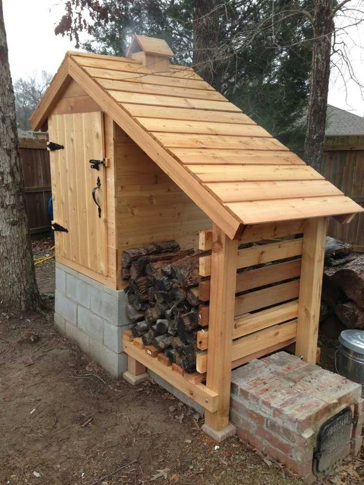 DIY Complete Instructions To Build This Amazing Smokehouse.