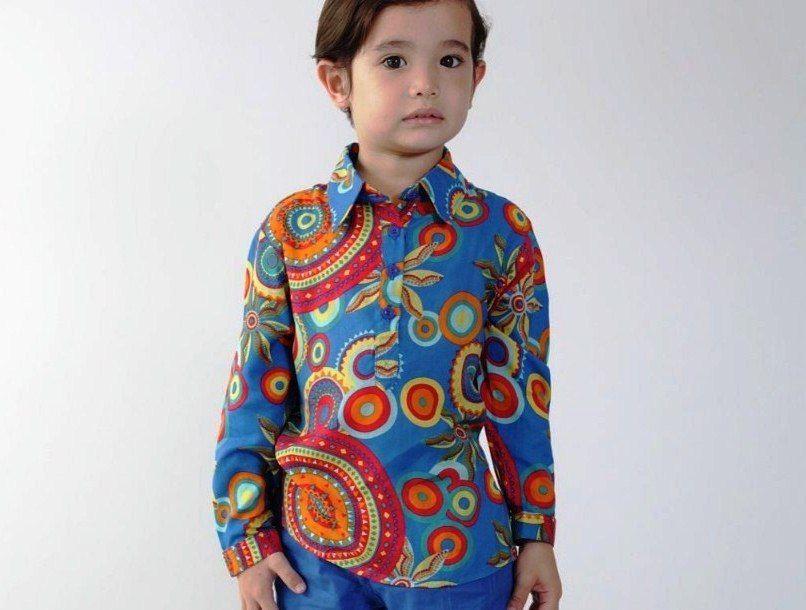 Contoh Model Baju Batik Modern Untuk Anak Laki Laki Untuk Pesta