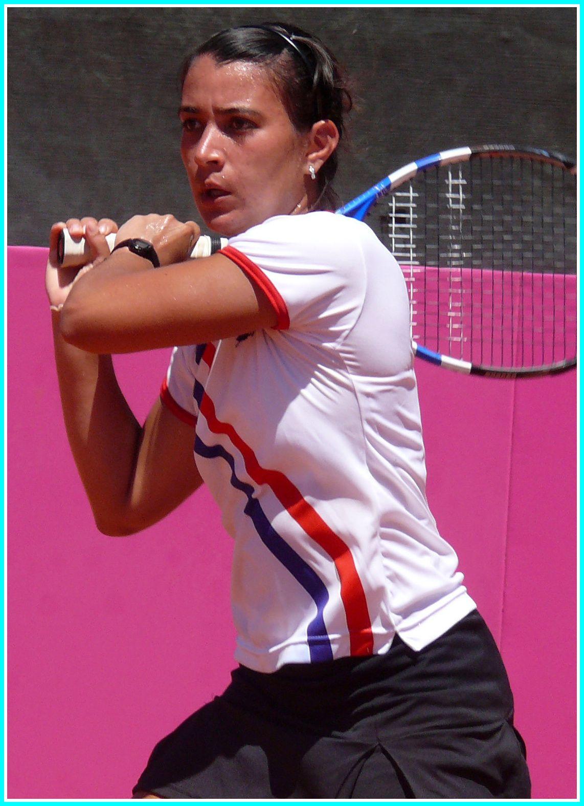 Veronica Cepede una figura creciente del tenis paraguayo