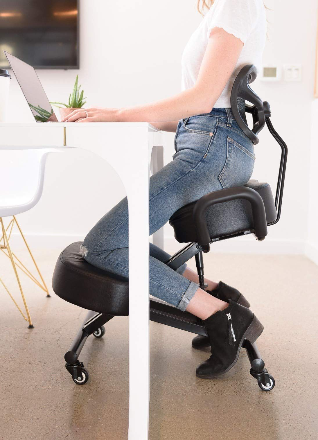Sleekform Ergonomic Kneeling Chair Posture Correction Kneel Stool Orthopedic Spine Support For Back Ergonomic Kneeling Chair Kneeling Chair Ergonomic Chair