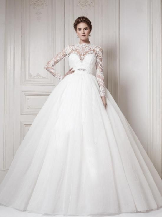 Find More Wedding Dresses Information about Vintage Lace Long Sleeve Wedding Dresses 2015 Tulle Backless Ball Gown Floor Length Wedding Bridal Gowns Lace Appliques AE73,High Quality dress adult,China dresses female Suppliers, Cheap dress victoria from Suzhou Romantic Wedding Dress Co. Ltd on Aliexpress.com