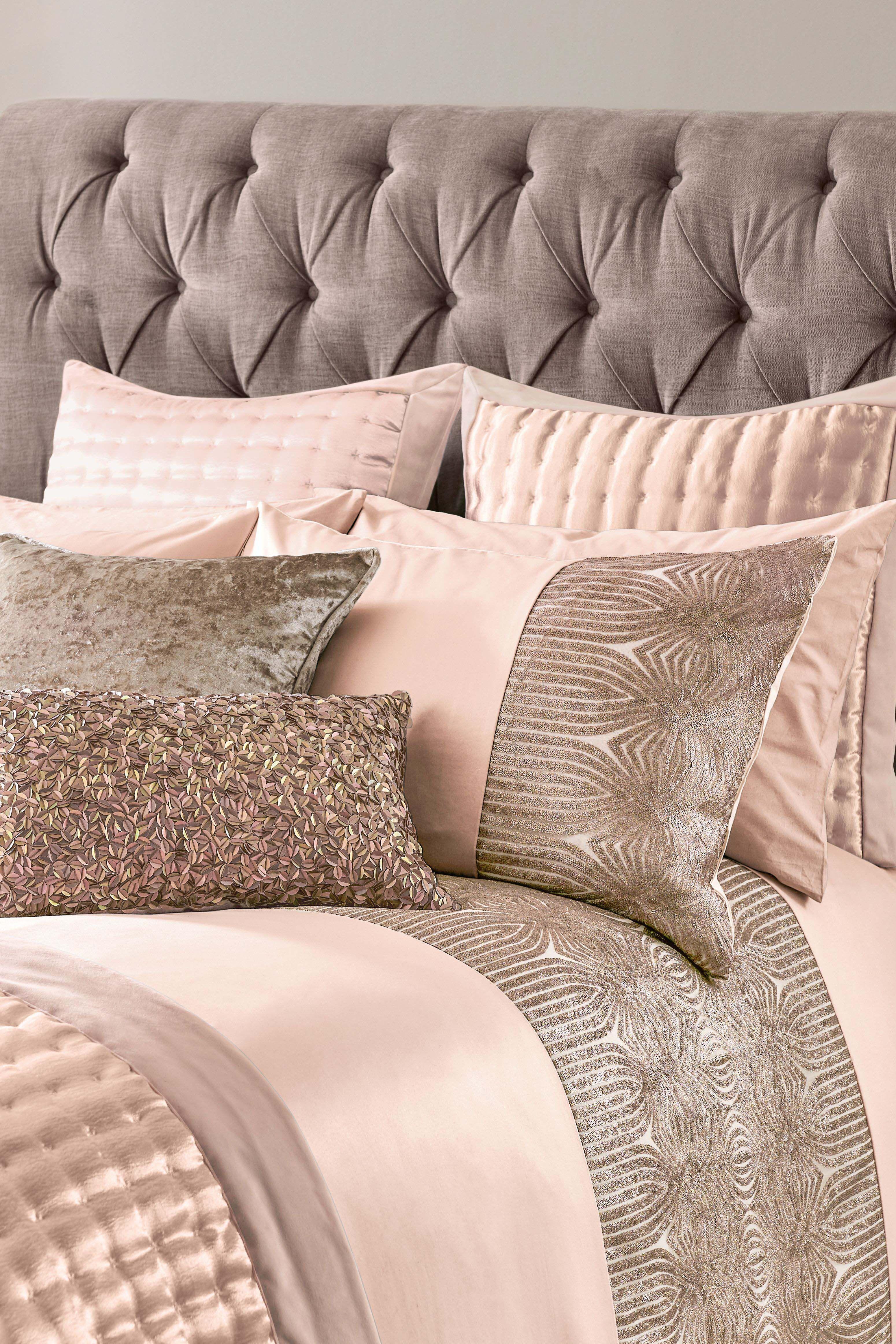 Next Crushed Velvet Cushion Pink Velvet cushions