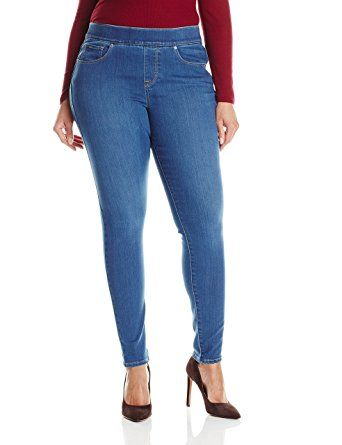 Levi's Women's Plus-Size Perfectly Slimming Pull-On Skinny, Potrero, ...