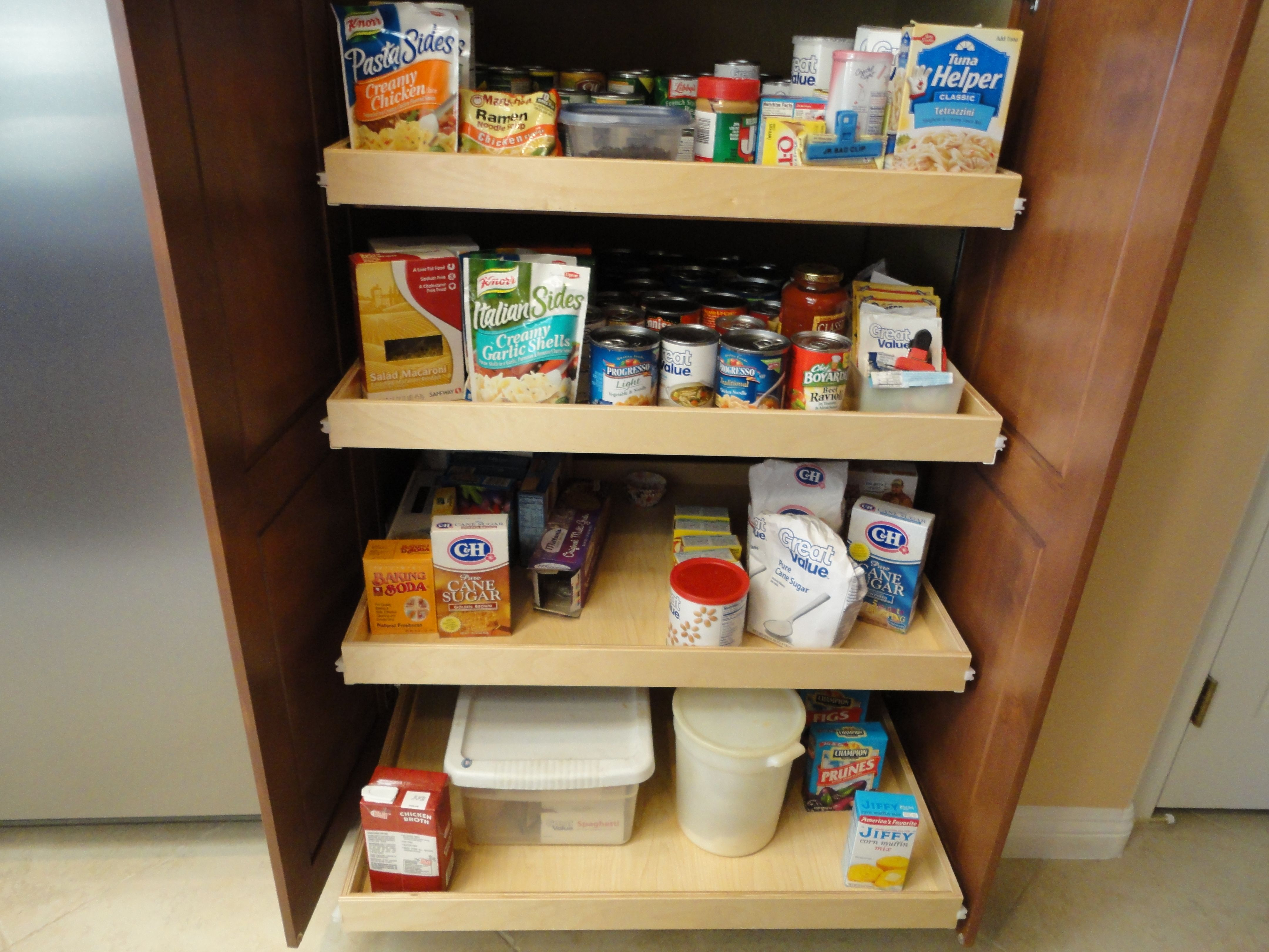 Kitchen Food Pantry Cabinet 33 Best Images About Pull Out Pantry Shelves On Pinterest