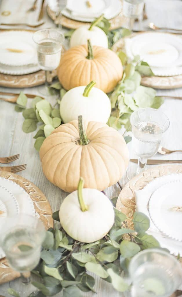 35 Thanksgiving Table Centerpieces That Are Seriously Gorgeous -   18 thanksgiving home decor ideas