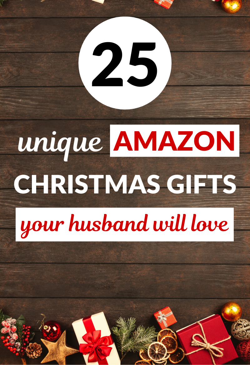 25 Unique Amazon Christmas Gifts He Will Love This Year