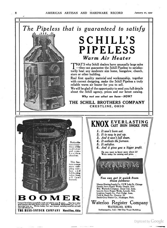 American Artisan Residential Air Conditioning, Warm Air