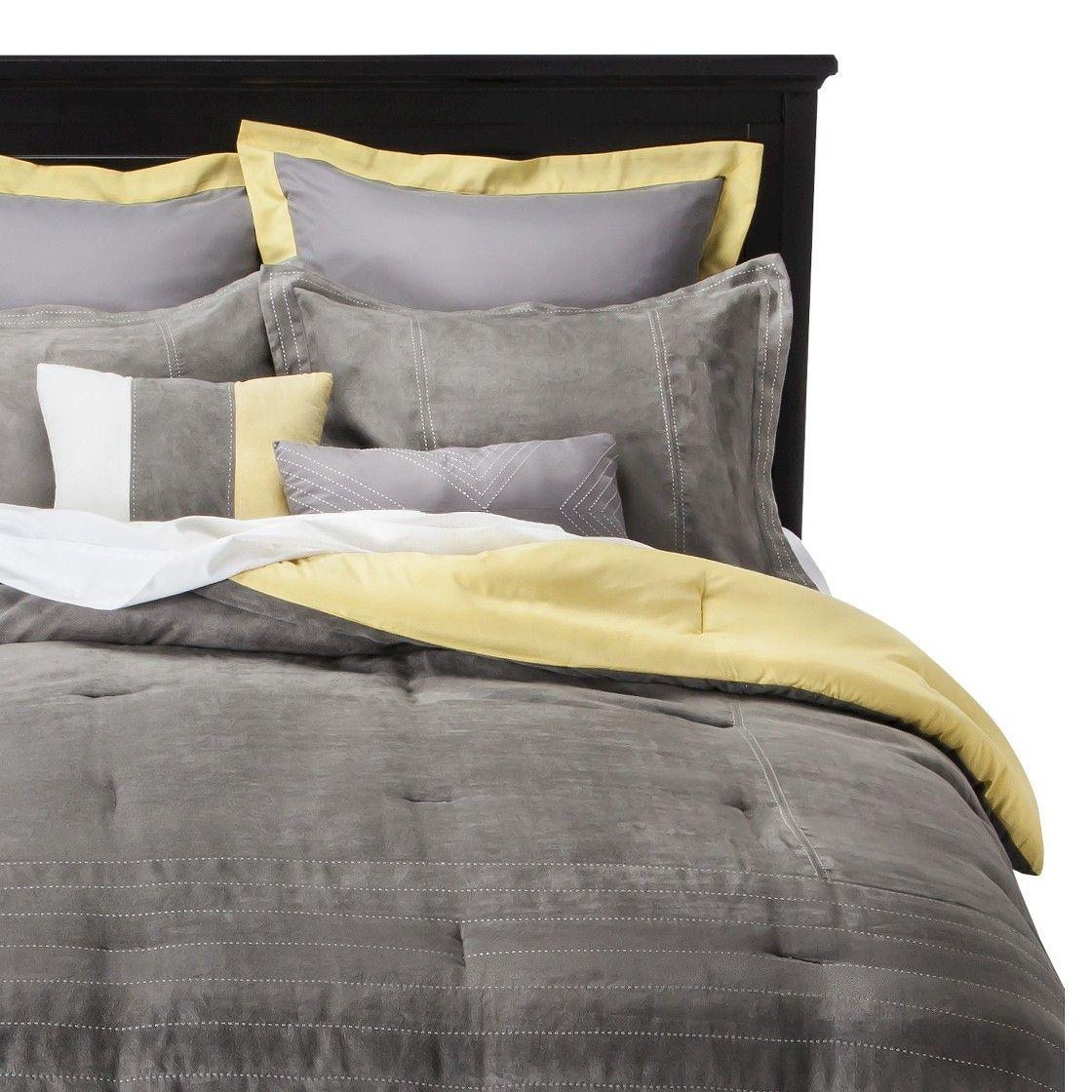 Express Microsuede Comforter Set Comforter Sets Grey Comforter Sets Bedding Sets