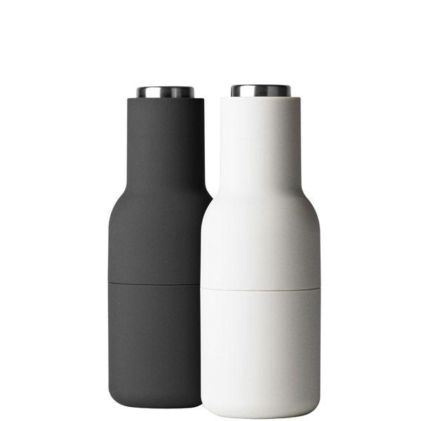 Bottle suola- ja pippurimylly, 2 kpl, harmaa/teräs