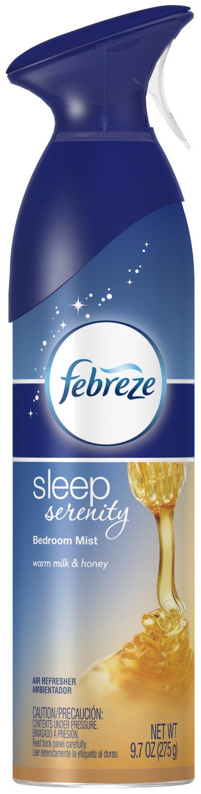 $4.05 Febreze Air Effects Sleep Serenity Bedroom Mist Air ...