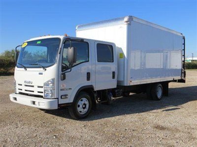 2014 Landscape Isuzu Npr Hd Crew Cab 16ft Vanscaper Click To See Full Size Photo Viewer Trucks New Trucks Hino