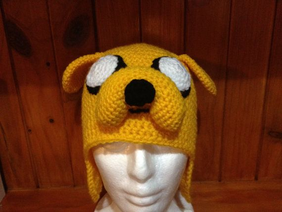 Jake the dog Adventure time Crochet Character Hat Pdf PATTERN on ...