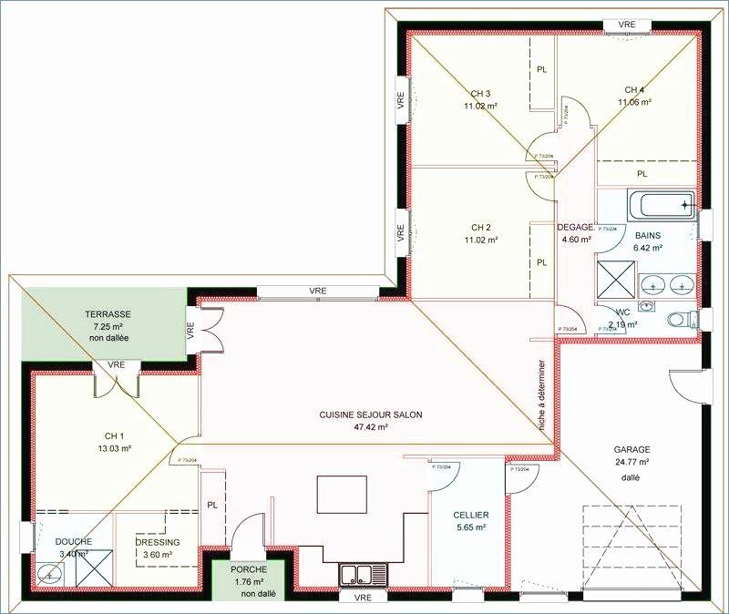 Les 100 Meilleures Images De Plan Maison En 2020 Plan Maison Maison Maison Plain Pied