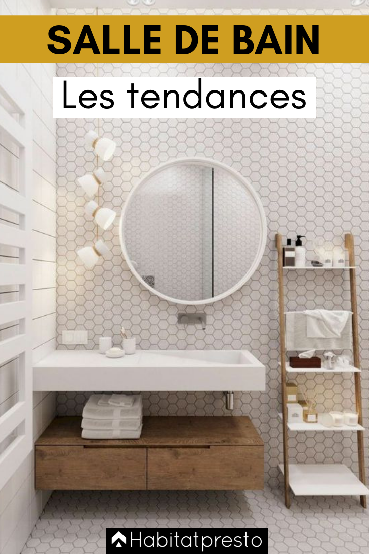 Les 5 Couleurs Tendances Pour Une Salle De Bains En 2020 Salle De Bain Renovation Salle De Bain Interieur Salle De Bain