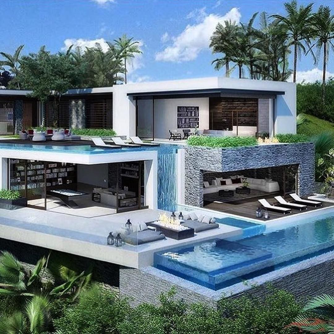 Amazing place to go :) | House architecture design, Modern ...