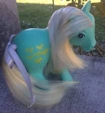 My little pony Rare Colombia Aqua Bowtie pony Colombian $600