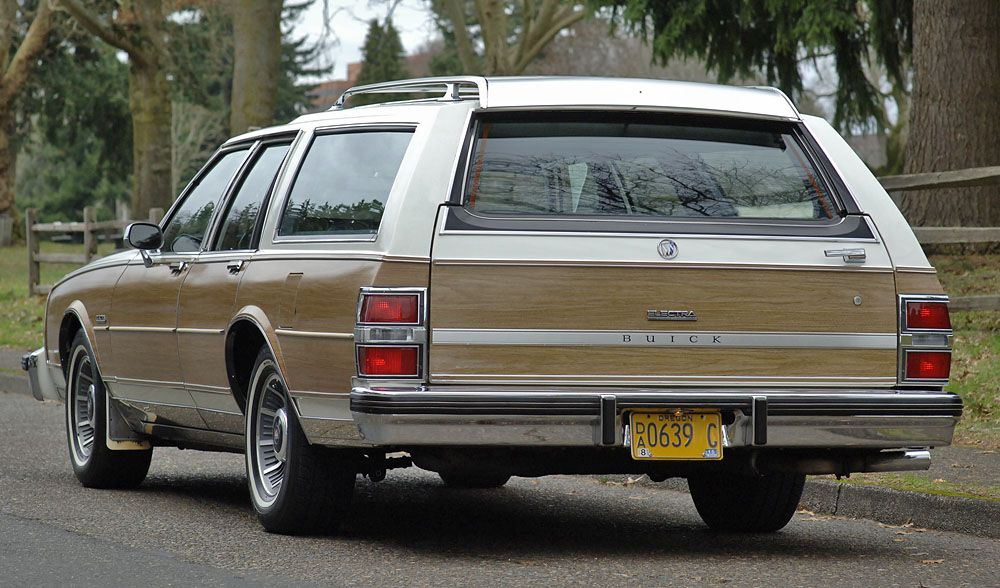 '85 Buick Estate Station Wagon Station wagon, Jeep