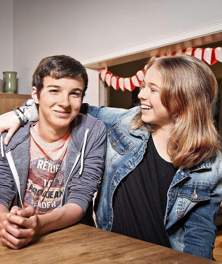 """""""In aller Freundschaft: Anthony (16) & Ella (13) seit 9"""