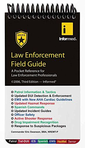 Do You Search For Law Enforcement Field Guide Law Enforcement Field Guide Is One Of Best Books For Now Get This Book In 2020 Field Guide Books To Read Online Law Books