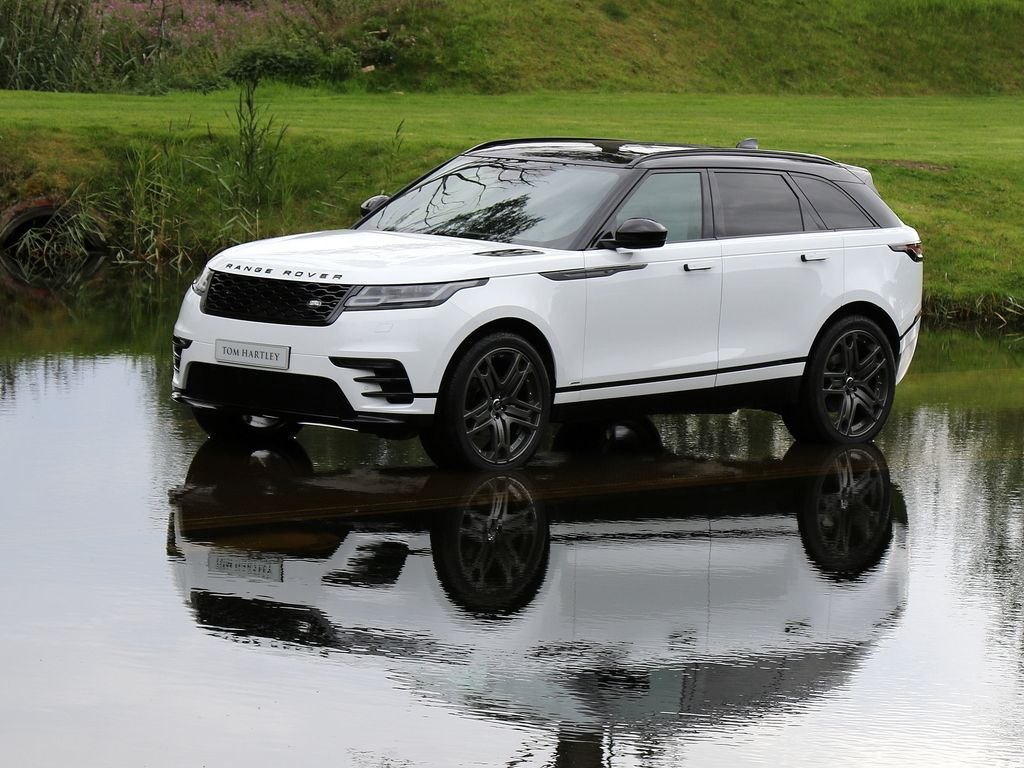 2017 LAND ROVER Range Rover Velar Fuji White with Light