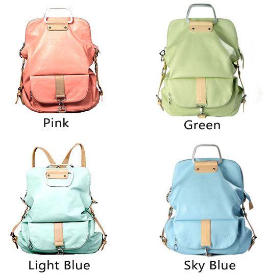 Unique Fresh Multifunction Backpack Handbag Shoulder Bag Only 36 99