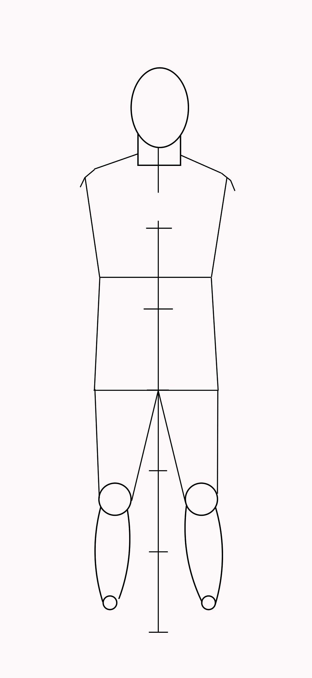 Как нарисовать человека поэтапно для начинающих