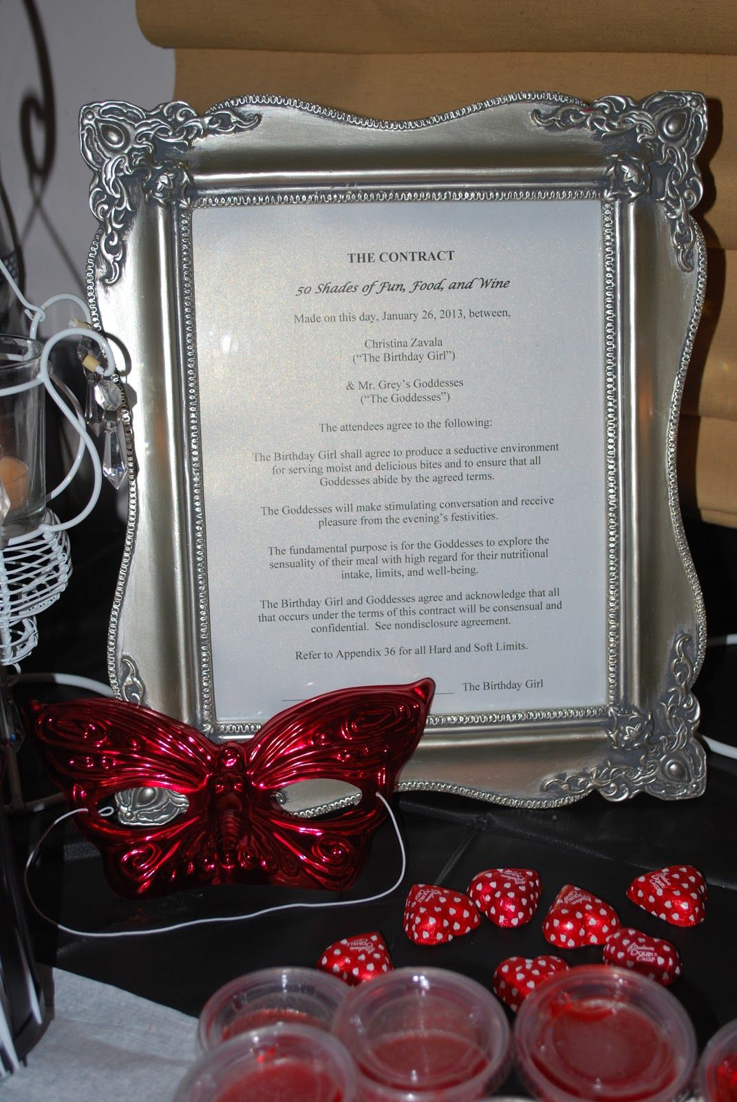 Fifty Shades Of Grey Party 1 Jpg 1 071 1 600 Pixels Fifty Shades Of Grey Fifty Shades 50 Shades Party