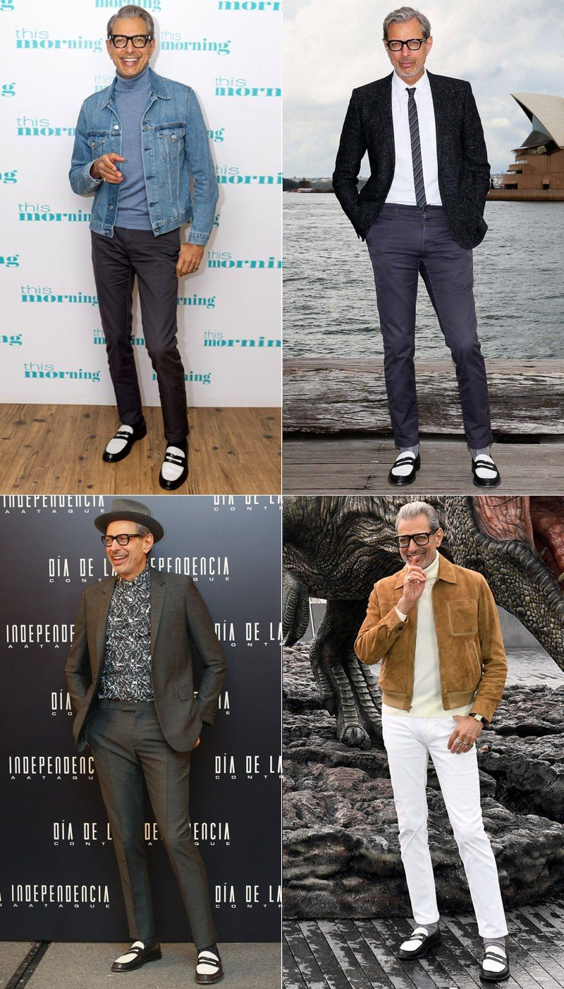 64034bb58e Lessons in Dressing Well From Jeff Goldblum in 2019