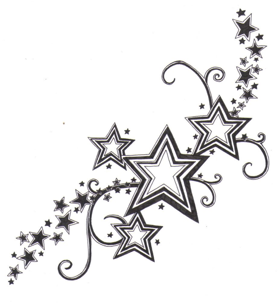 25 star tattoos ideas for men and women