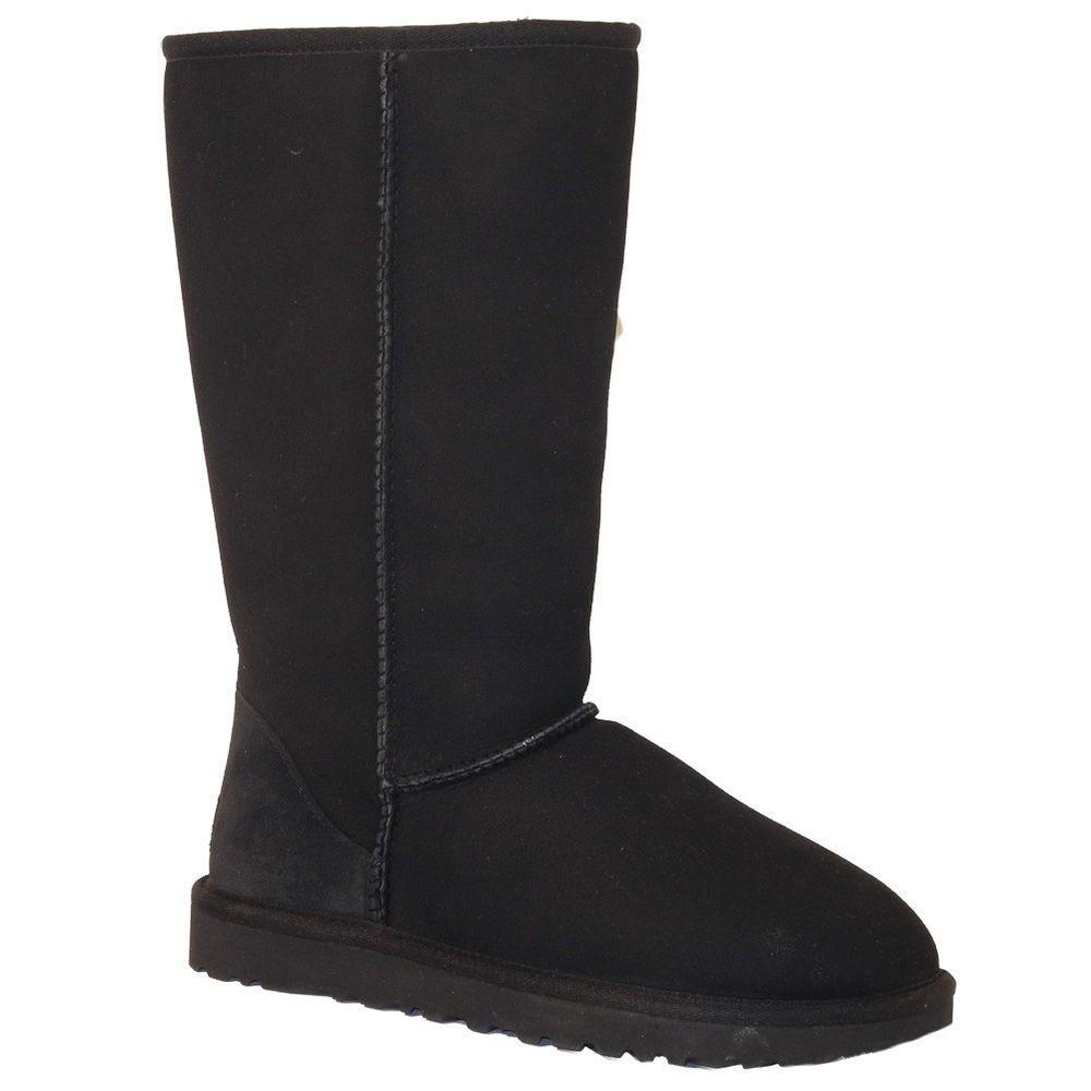 UGG Australia 5815 - Classic Tall Boots - Black #UGGAustralia #FashionKneeHigh