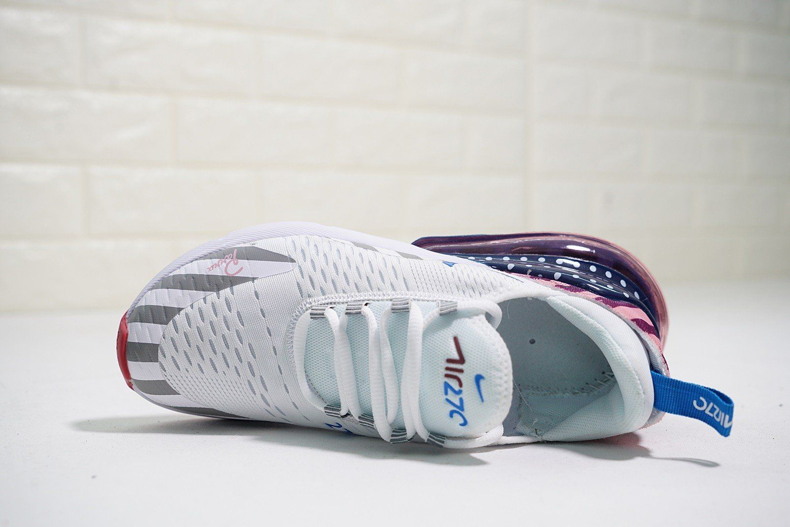 sports shoes d79b1 05385 Nike Air Max 270 'Parra' Colorful 2018 in 2019 | Sneakers ...