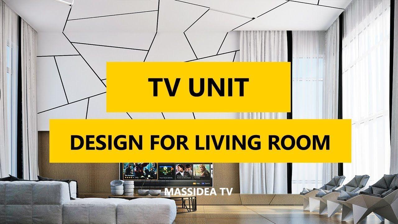 50 Best Modern Tv Unit Design For Living Room In 2018 Li