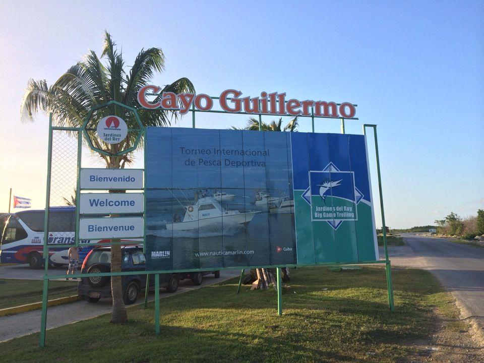 Cayo guillermo cuba resort travel