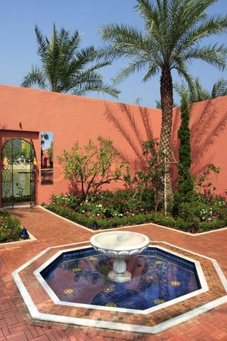 Stock image of \'Moroccan garden style in park\' | Ideas for Julie\'s ...