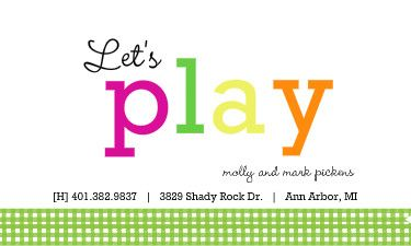 Moms Play Date Cards Ideas Google Search Playdate Cards
