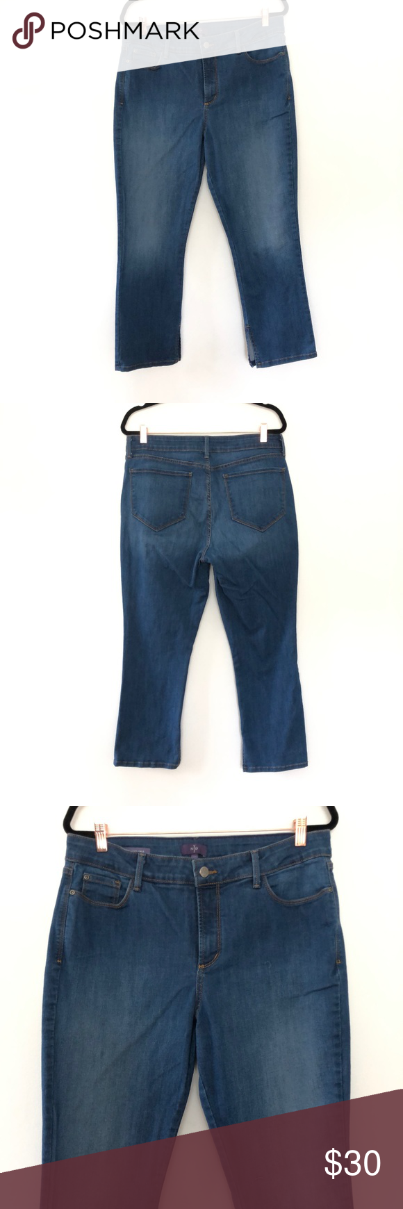 7b047b7ccce5d NYDJ Ira Relaxed Ankle Jeans NYDJ Not Your Daughters Jeans Womens Ira  Relaxed Ankle Jean Plus