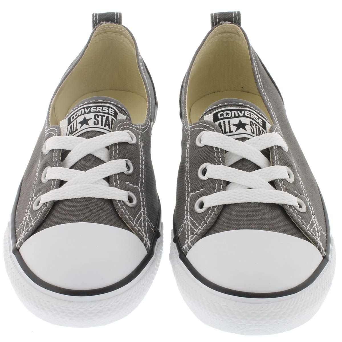 c93788a28f86 Converse Women s CT ALL STAR BALLET LACE charcoal slip-ons 547164C ...