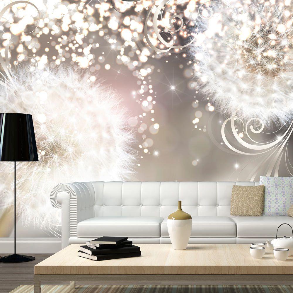 vlies fototapete tapeten xxl wandbilder tapete pustenblume natur b a 0074 a a einrichten. Black Bedroom Furniture Sets. Home Design Ideas