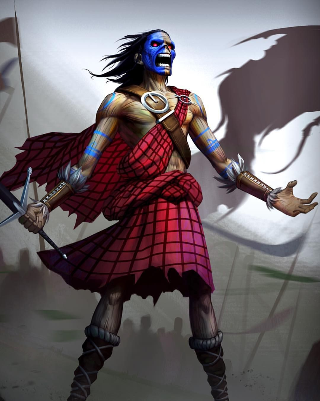 Wallpaper Iphone Iron Maiden: Freeeeedom!!!! Download This Awesome Clansman Eddie