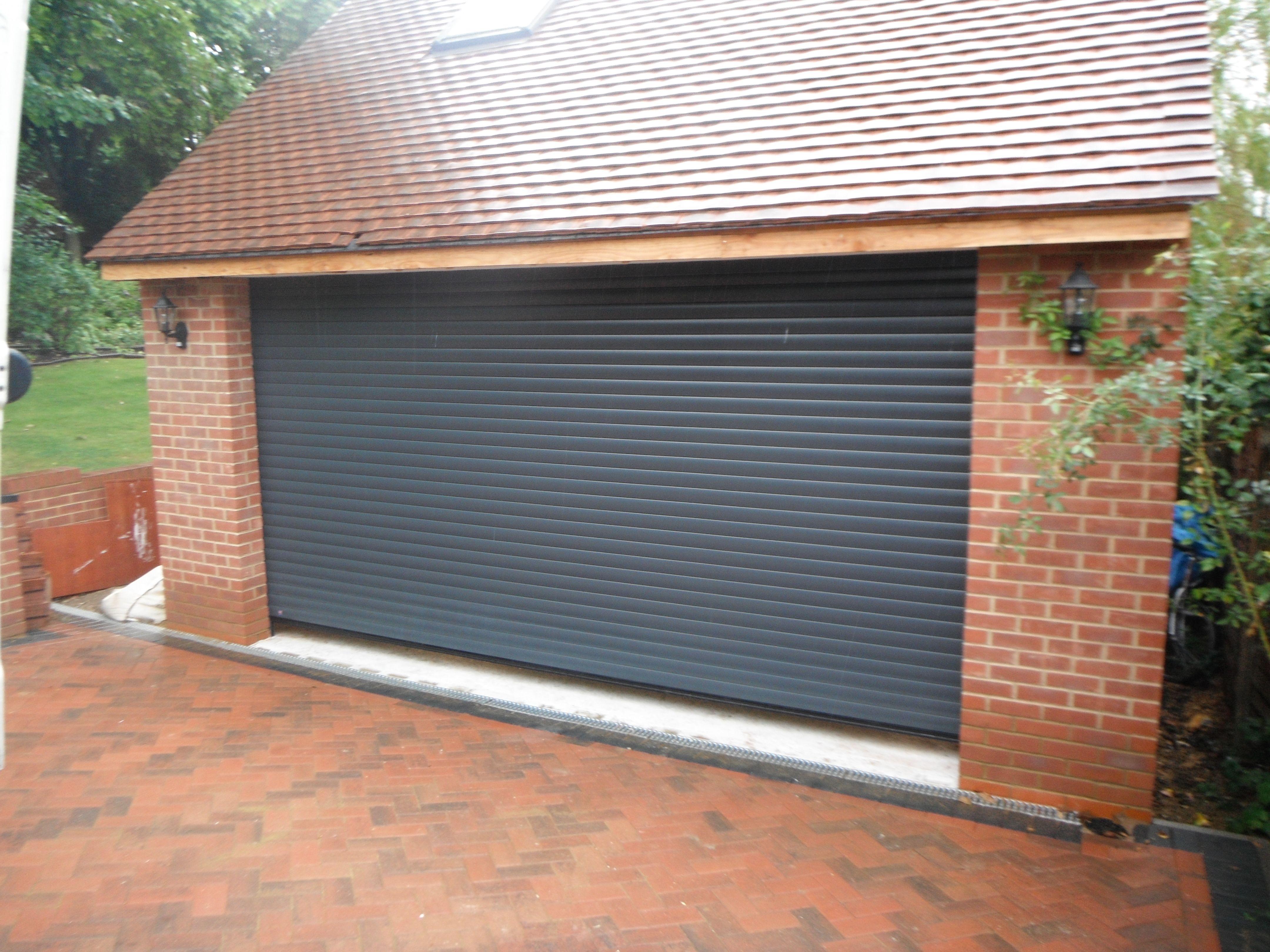 Hormann rollmatic in anthracite grey garage door garage doors hormann rollmatic in anthracite grey garage door rubansaba