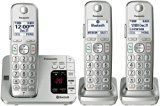#10: Panasonic KX-TGE463S Link2Cell Bluetooth Cordless Phone with Answering Machine- 3 Handsets - phones (http://amzn.to/2cumGsb) printers (http://amzn.to/2cunwoO) shredders (http://amzn.to/2bXf0y6) projectors (http://amzn.to/2ch8mil) scanners (http://amzn.to/2bMXiIv) laminators (http://amzn.to/2ch9P8C)
