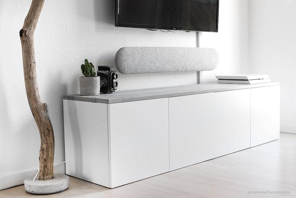 ikea tv bord DIY #15: Tvbord – IKEA hack (KATARINA NATALIE) | Stue | Pinterest  ikea tv bord