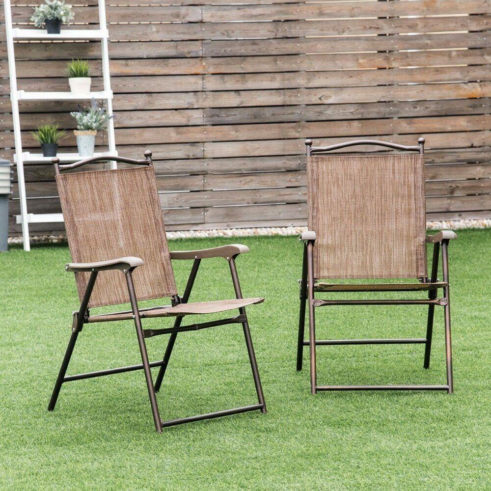 silla plegable jardin tela