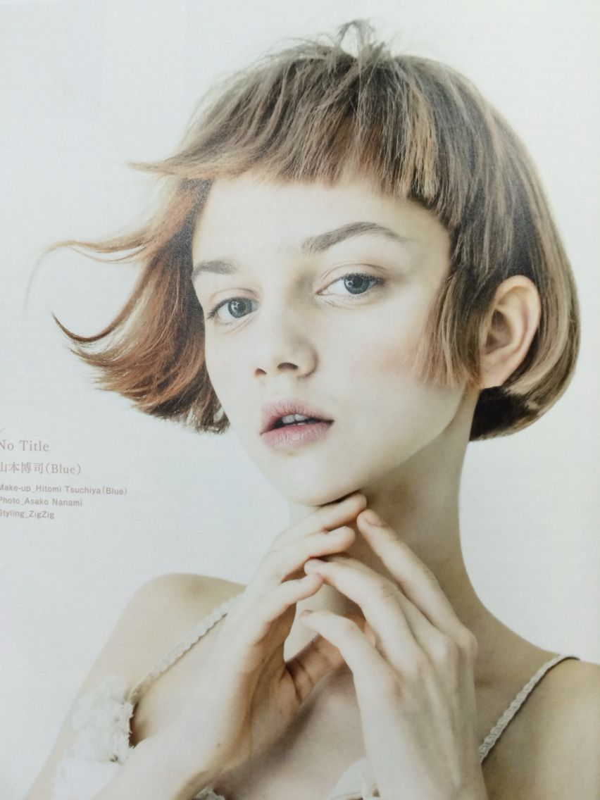 Pin by マム on ヘアビューティー pinterest bobs face and hair