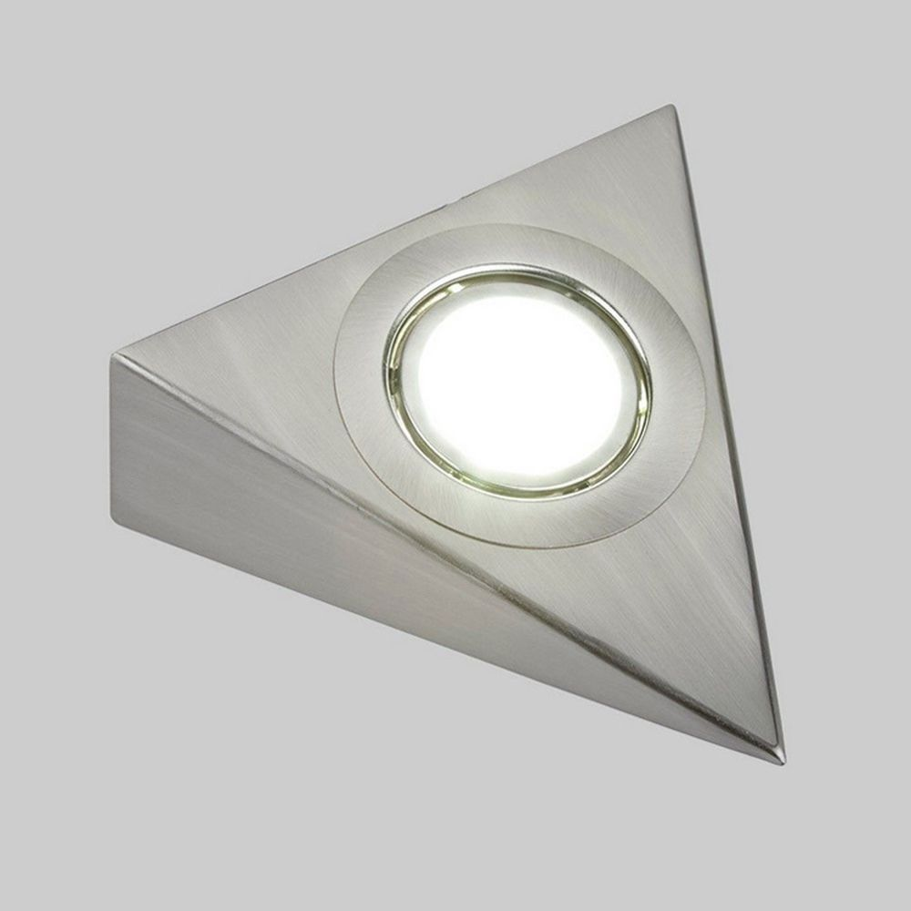 Triangle under cabinet led mains kitchen cupboard light kit cool ...