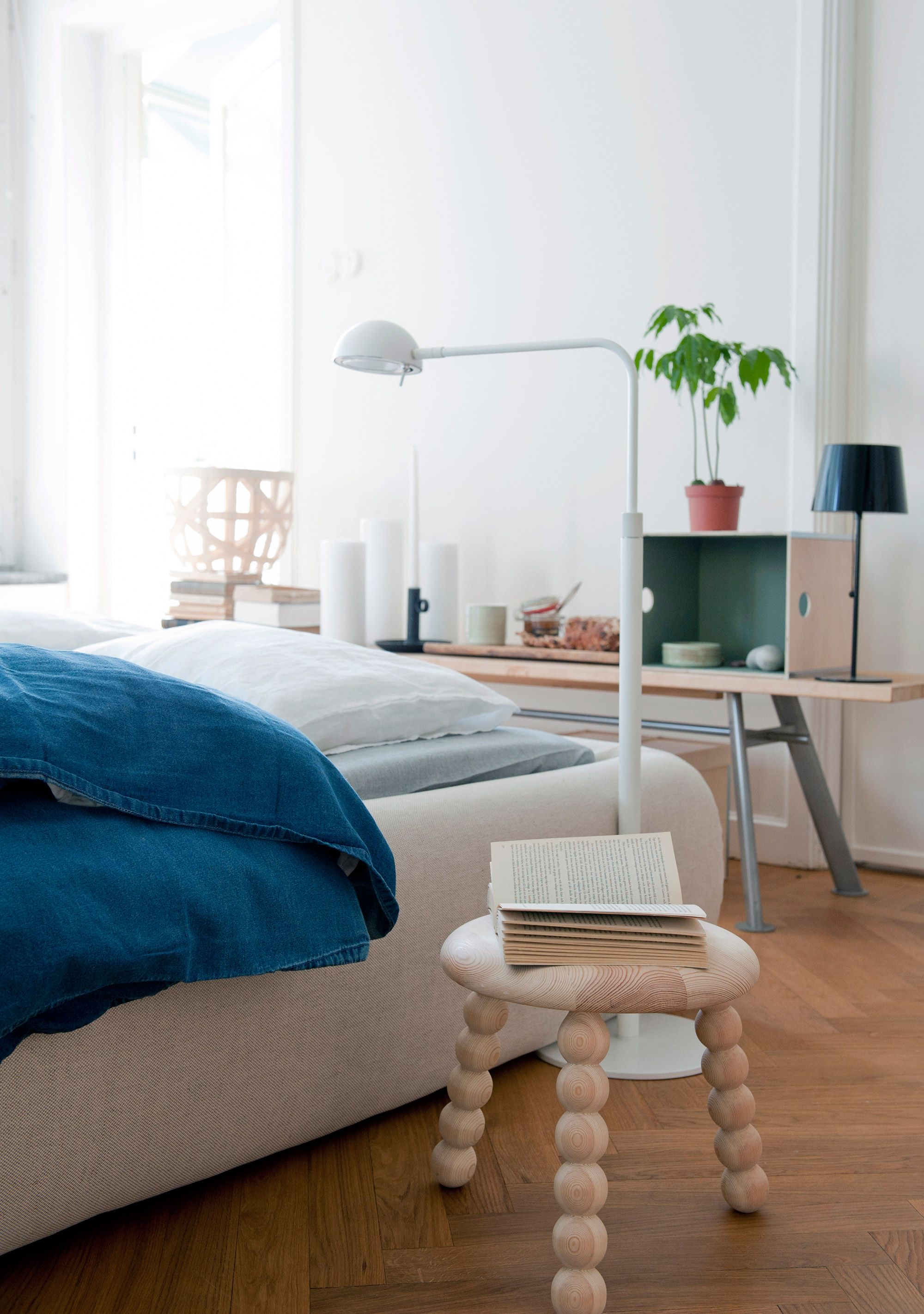 bluish cocoon that modern and bedroom gray minimal to in for color beds bring colorful headboards bed view the designs gallery