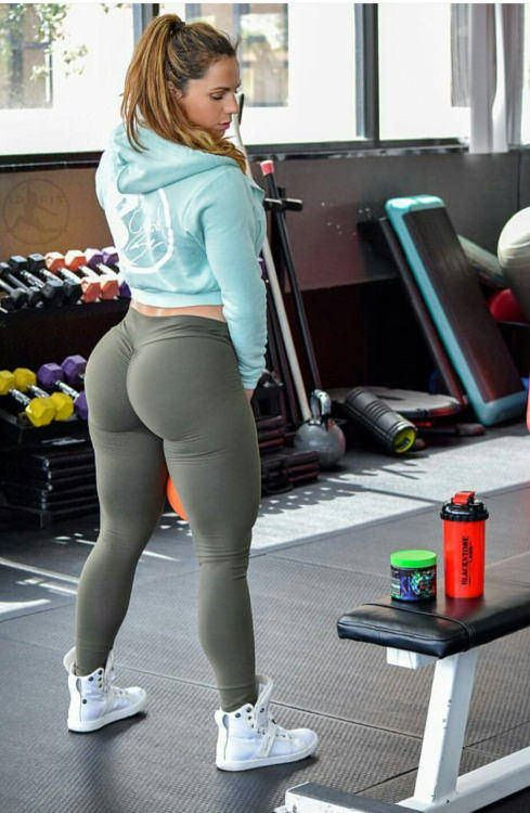 Nice ass girl yoga pants